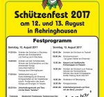 Schützenfest Rehringhausen 2017