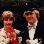 Königspaar 1980 Konrad und Gerlinde Ohm