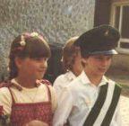 Kinderkönigspaar 1982 Oliver Becker und Sylvia Maiworm (Kleine)