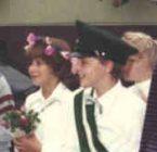 Kinderkönigspaar 1984 Rüdiger Schnüttgen und Tanja Schneider (Vitt)