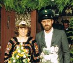Königspaar 1987 Erwin und Helga Springer