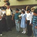 Kinderkönigspaar 1987 Maikel und Nicole  Springer