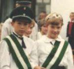 Kinderkönigspaar 1989 Jürgen Hoffmann und Kerstin Flachmeier