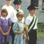 Kinderkönigspaar 1991 Sebastian und Regina Besting
