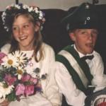 Kinderkönigspaar 1993 Steffen Demerling und Judith Vitt