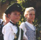 Kinderkönigspaar 1995 Sebastian Venc und Judith Vitt