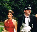 Königspaar 1996 Berthold und Renate Nies