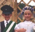 Kinderkönigspaar 1986 Thomas Wirtz und Michaela Ohm