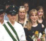 Kinderkönigspaar 1997 Elmar Hardenack und Jana Ohm-Kuhlmann