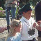 Kinderkönigspaar 2000 Daniel Alfes und Julia Gerhard