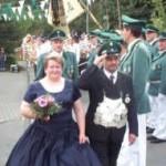 Königspaar 2001 Peter und  Gabriele Obrocki