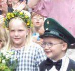 Kinderkönigspaar 2002 Matthias Ohm und Hernrike Ohm