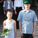 Kinderkönigsppar 2004 Julian Heuel und Carina Heuel