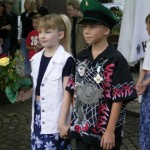 Kinderkönigspaar 2005 Sebastian Hennecke und Laura Hennecke
