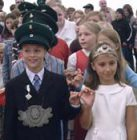 Kinderkönigspaar 2006 Noah Sondermann und Hanna Fairbrother