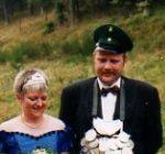 Königspaar 1998 Gottfried und Maria Ohm