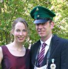 Königspaar 2008 Thomas Löser und Julia Vollmer