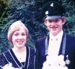 Königspaar 1977 Richard Ohm und Beatrix Hoberg