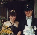 Königspaar 1982 Michael Liese und Monika Rademacher