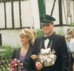 Königspaar 1989 Reiner Stuff und Jutta Vitt (Kleine)