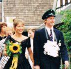 Königspaar 1995 Hubertus und Martina Rademacher