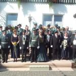 Jubiläumsschützenfest 2000 Ehrentrbühne 100 jaehriges Vereinsjubiläum