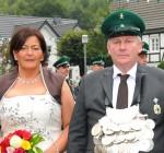 Königspaar 2011 Rudolf und Eva Ottersbach