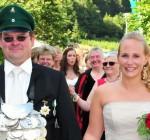 Königspaar 2012 Dieter Ohm und Michaela Ohm