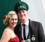 Königspaar 2013 Christopher und Ann-Sophie Stahlhacke