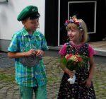 Kinderkönigspaar 2013 Alfred und Mia Nies