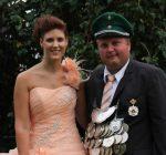 Königspaar 2015 Benjamin Nies und Christina Ohm