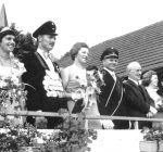 Ehrentribühne 1975 Jubiläumsschützenfest