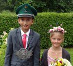 2016 Kinderkönigspaar Jonas Hoffmann und Elea Schweinsberg