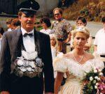 Königspaar 1990 Meinolf und Birgit Nies