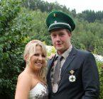 Königspaar 2014 Fabian und Sabrina Nies